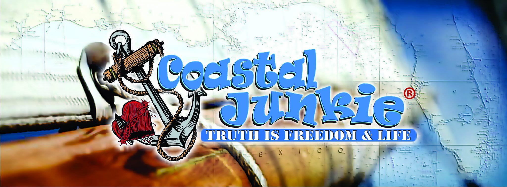 Coastal Junkie Logo - Gulf Chart